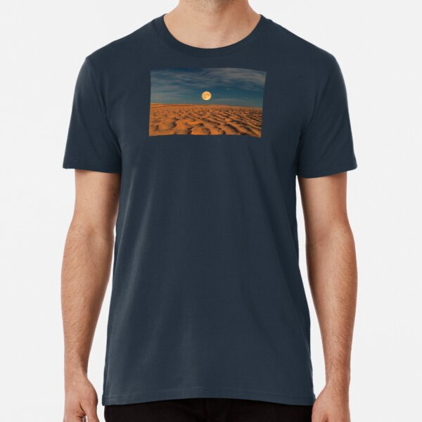 Moon across the Sands Premium T-Shirt