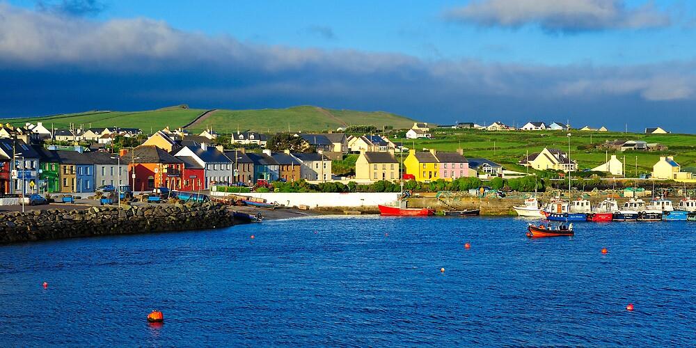 Portmagee, Co. Kerry, Ireland by Stefan Schnebelt