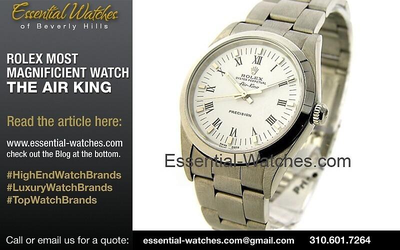 Best Rolex Air King by Rolex-Air-King