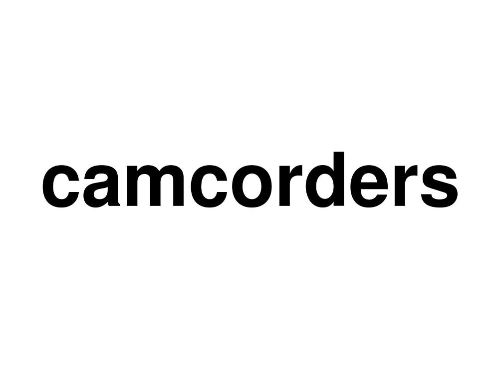camcorders by ninov94