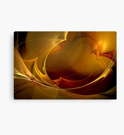 Blustering Waves Canvas Print