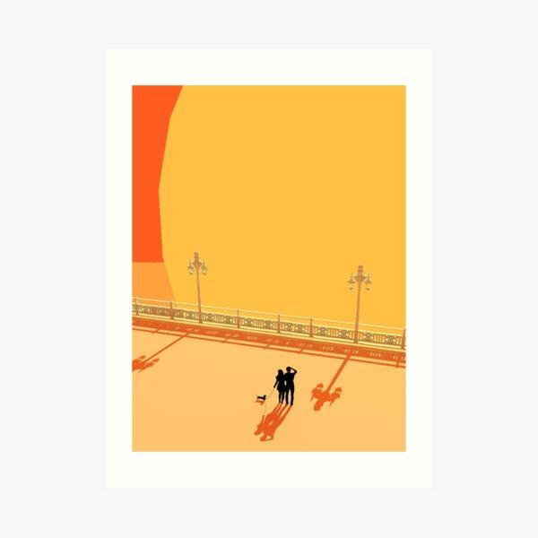Brighton Sun Blast Print Art Print