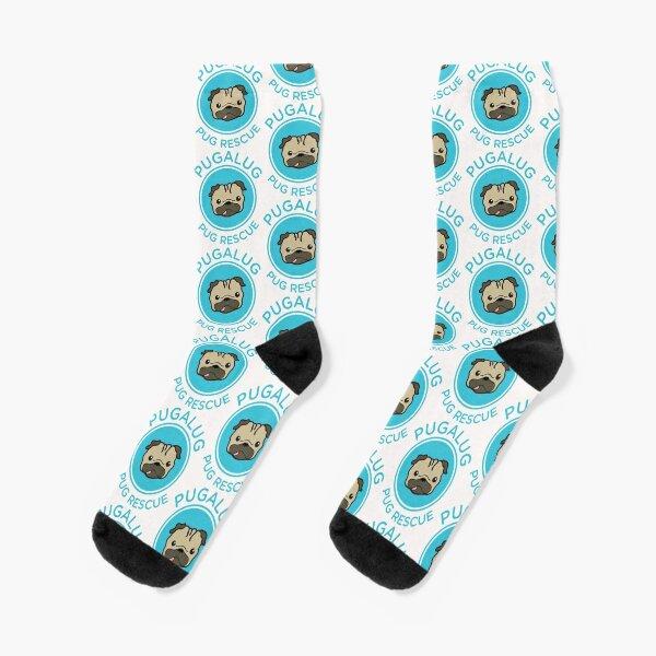 Classic Pugalug Logo Socks
