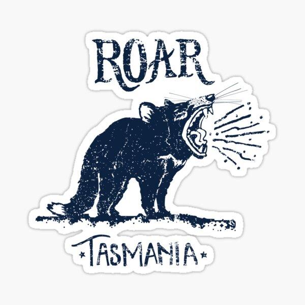Roar Tasmania, by Grace Garton Sticker