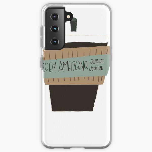 Hyunjin Iced Americano Coque souple Samsung Galaxy