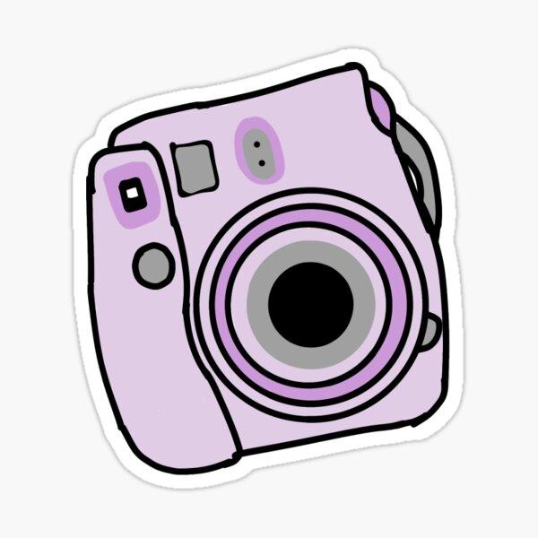 Purple Camera Stickers Redbubble
