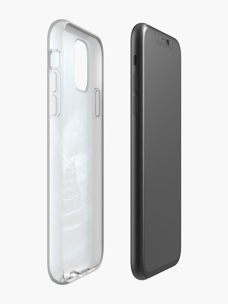 Alternate view of Following the Moon iPhone Case & Cover