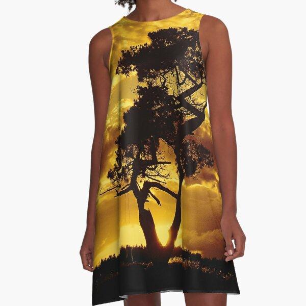 Tree Dance 2 A-Line Dress