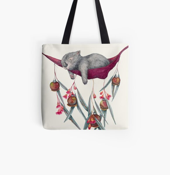 Lazy Days All Over Print Tote Bag