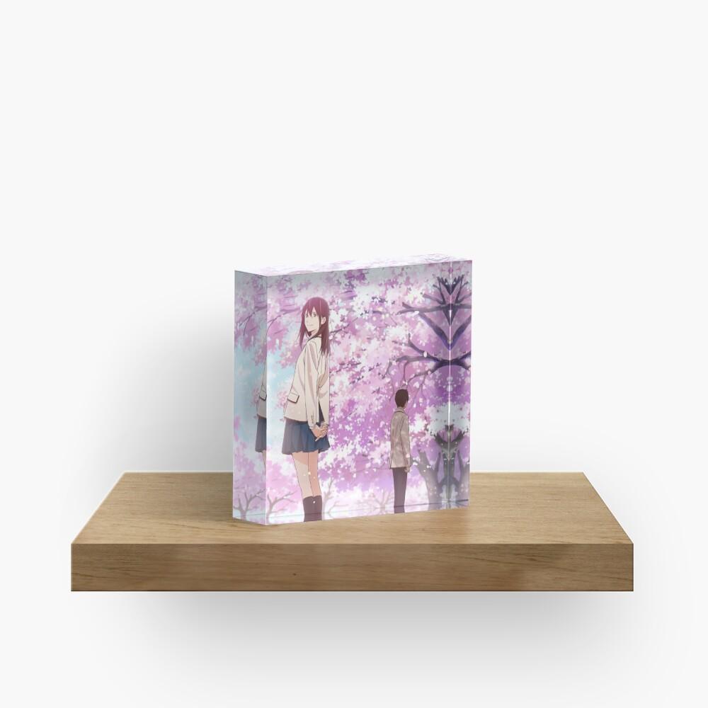 Kimi no Suizou Tabetai [I Want to Eat Your Pancreas] Acrylic Block