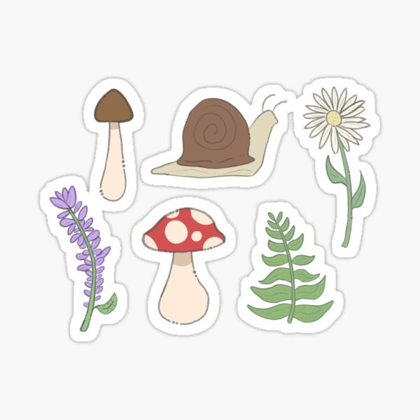 cottagecore sticker set Sticker