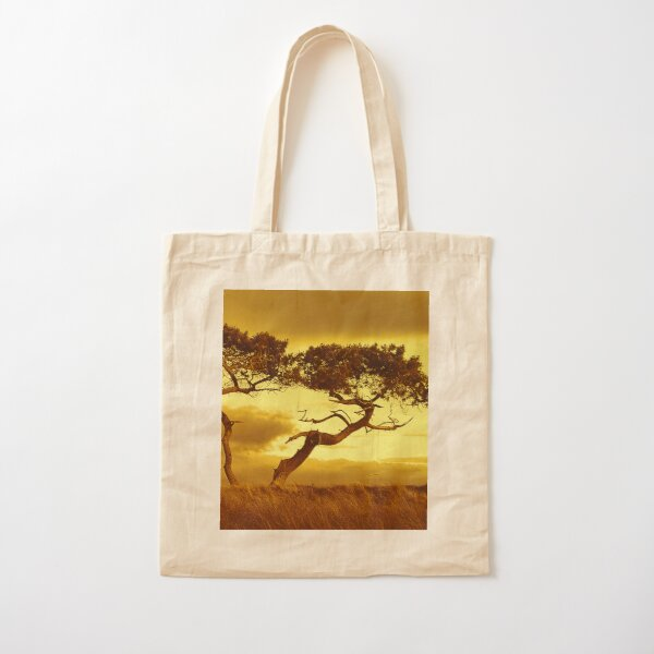 Tree Dance Cotton Tote Bag