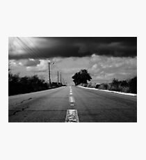 road to the clouds Photographic Print