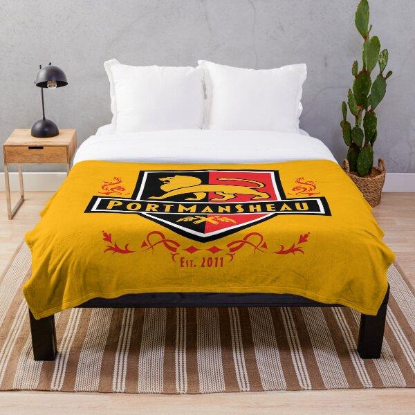Portmansheau Shield Logo Throw Blanket