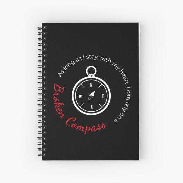 Stray Kids - Broken Compass Spiral Notebook