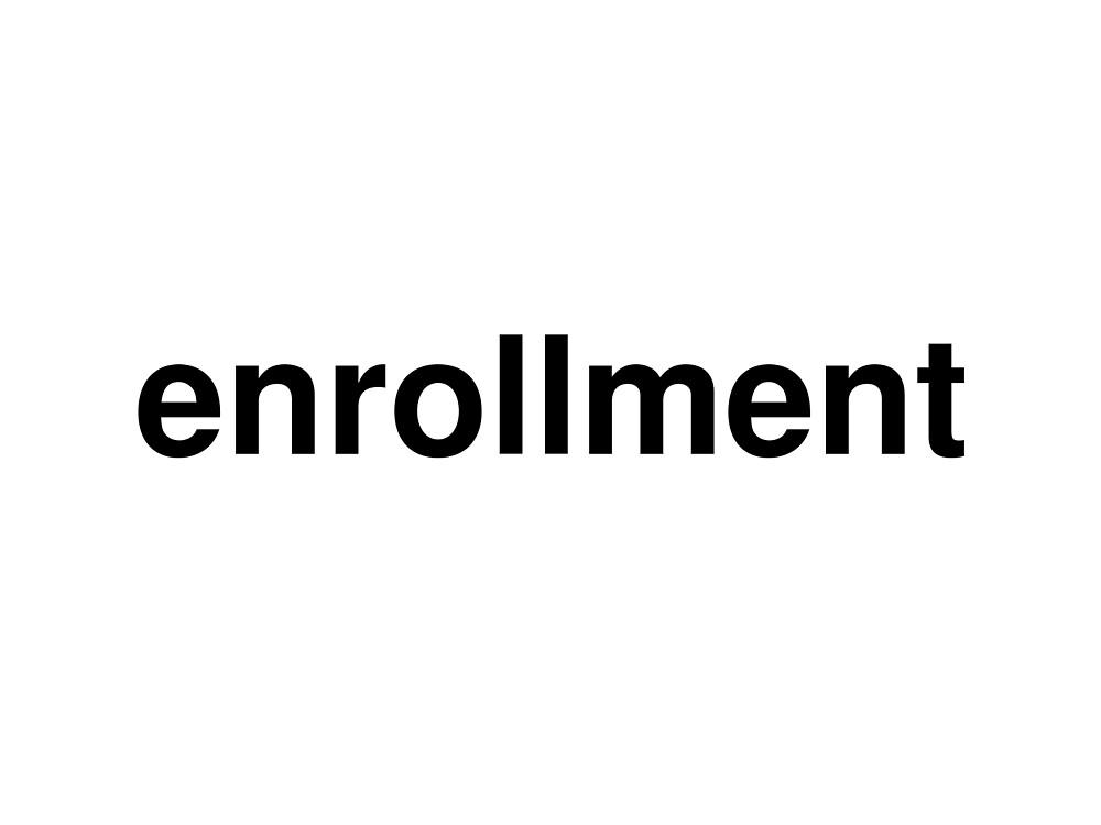 enrollment by ninov94