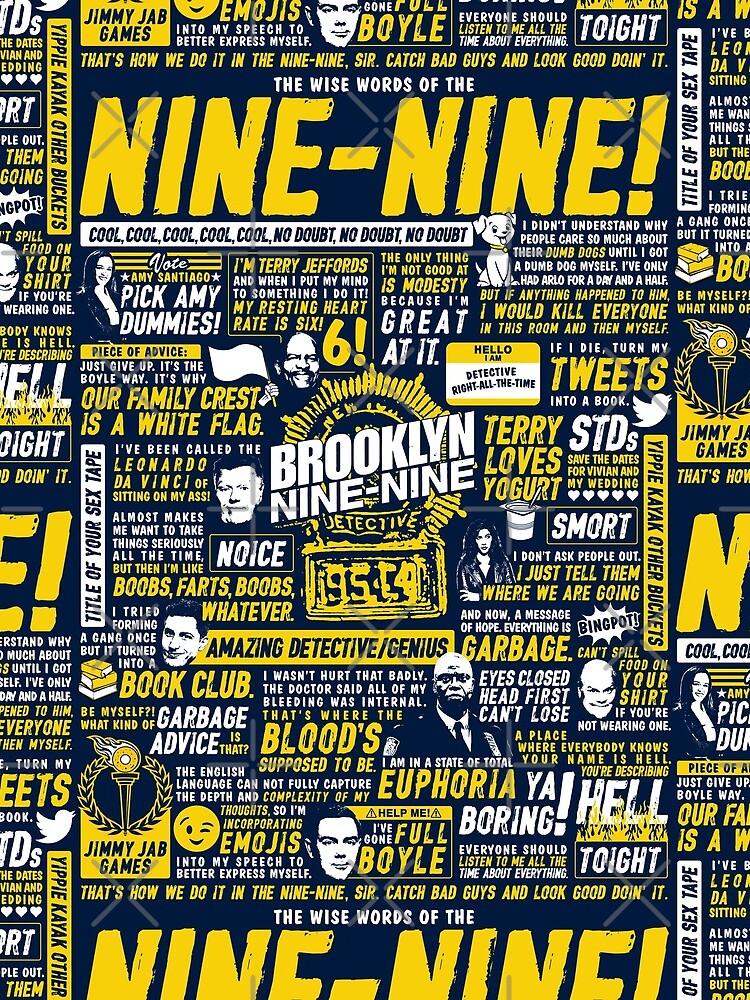 Wise Words of the Nine-Nine by huckblade