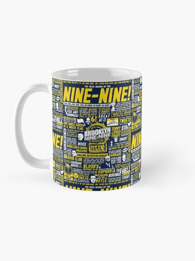 Alternate view of Wise Words of the Nine-Nine Mug