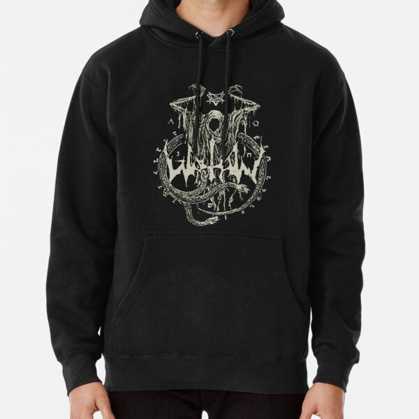 Blood Mountain Mens Hoodie Black YOLO Mastodon