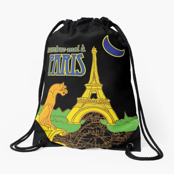 Meet me in PARIS Drawstring Bag
