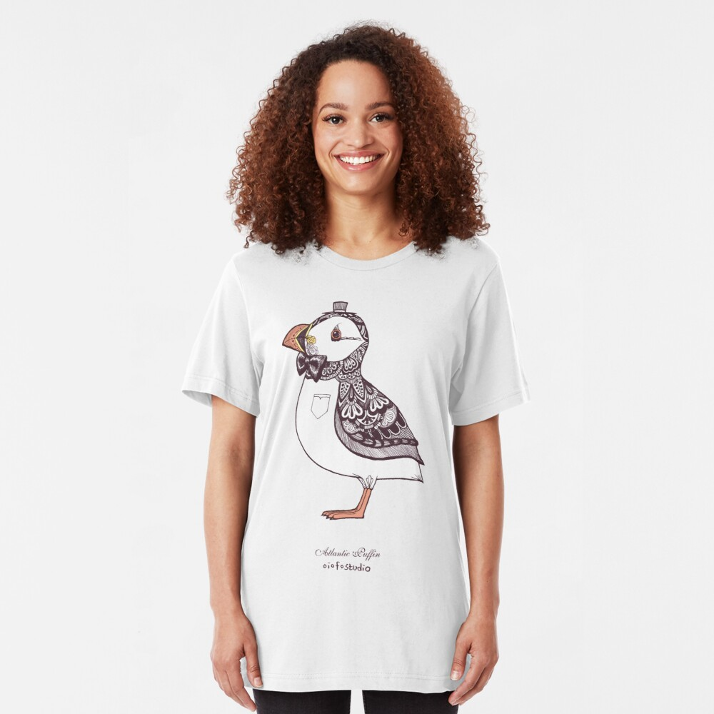 Atlantic Puffin II Slim Fit T-Shirt