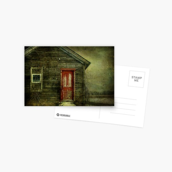 Abandoned (like Andrew Wyeth) Postcard
