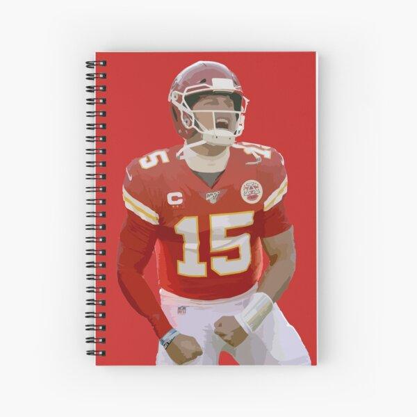 Patrick Mahomes Spiral Notebook