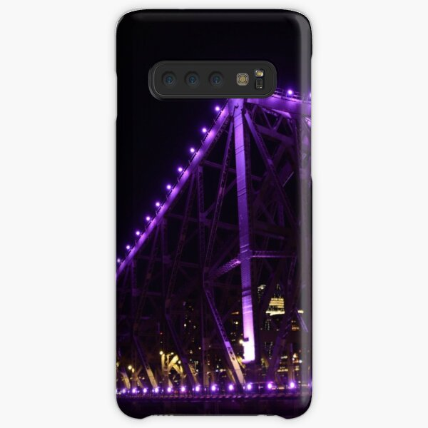 Story Bridge purple lights Samsung Galaxy Snap Case