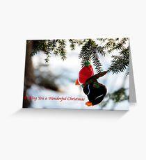 Penquin Christmas Greeting Card