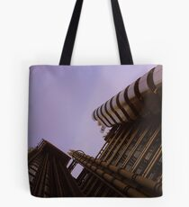 Lloyds London HQ from below Tote Bag