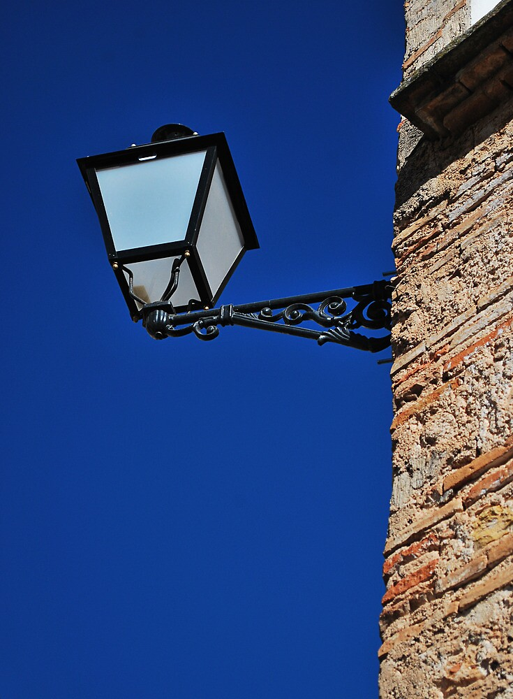 Street lamp by Kate Fortune