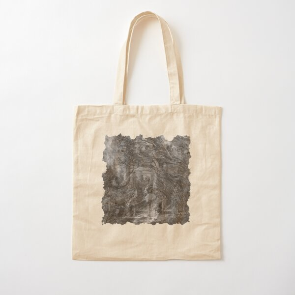 The Atlas of Dreams - Plate 30 (b&w) Cotton Tote Bag