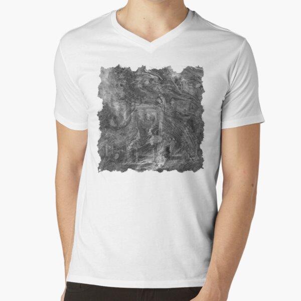 The Atlas of Dreams - Plate 30 (b&w) V-Neck T-Shirt