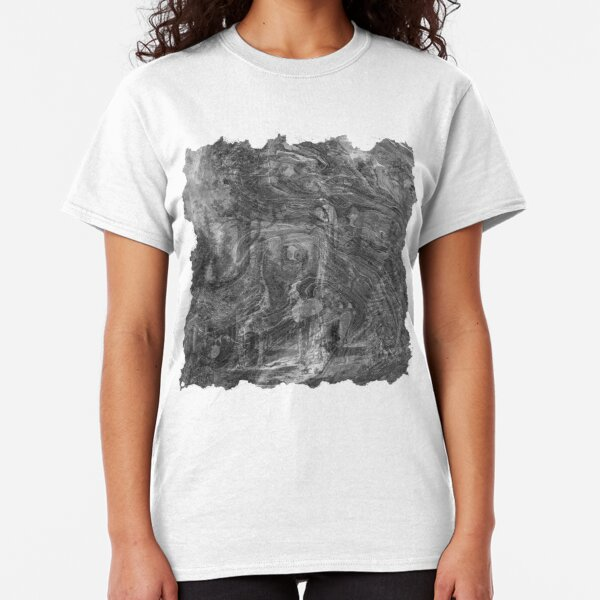 The Atlas of Dreams - Plate 30 (b&w) Classic T-Shirt