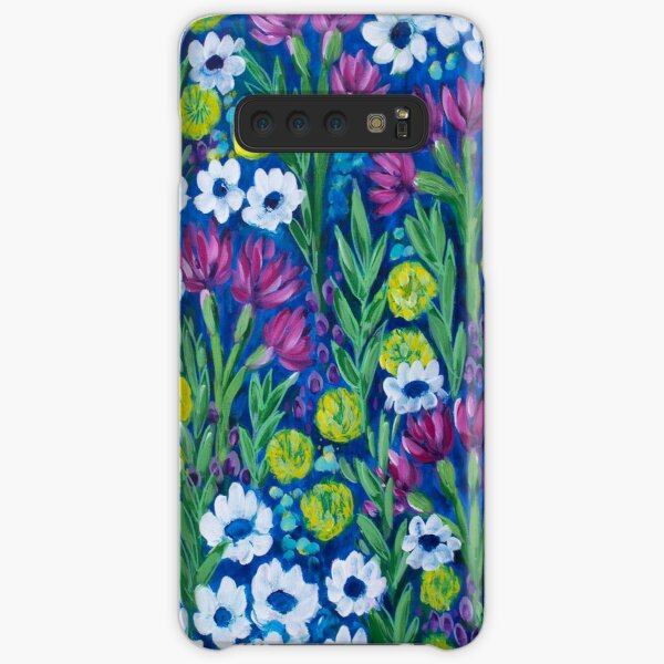 Growing Wilder - Wildflower Painting Samsung Galaxy Snap Case