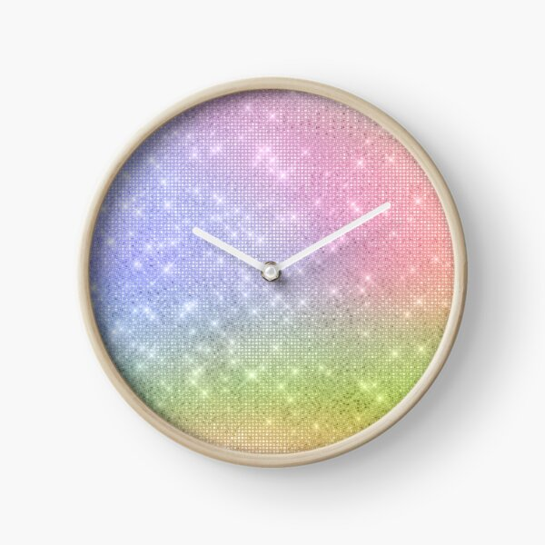 All That Glitters Is Great Clock