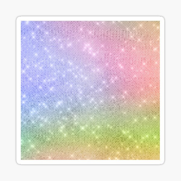 All That Glitters Is Great Sticker