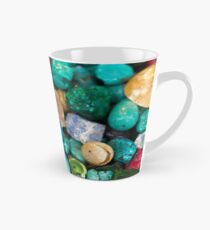 polished semi precious gem stones Tall Mug