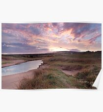 Inverness Dunes Sunrise Poster