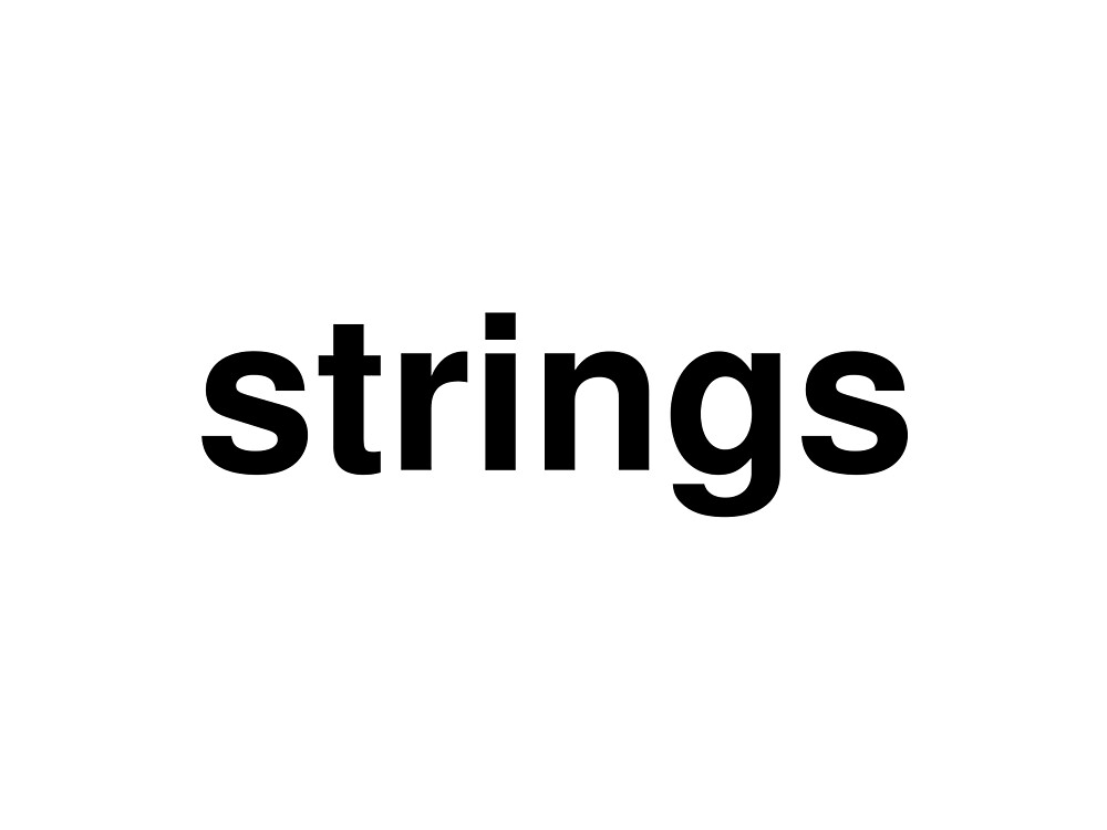 strings by ninov94