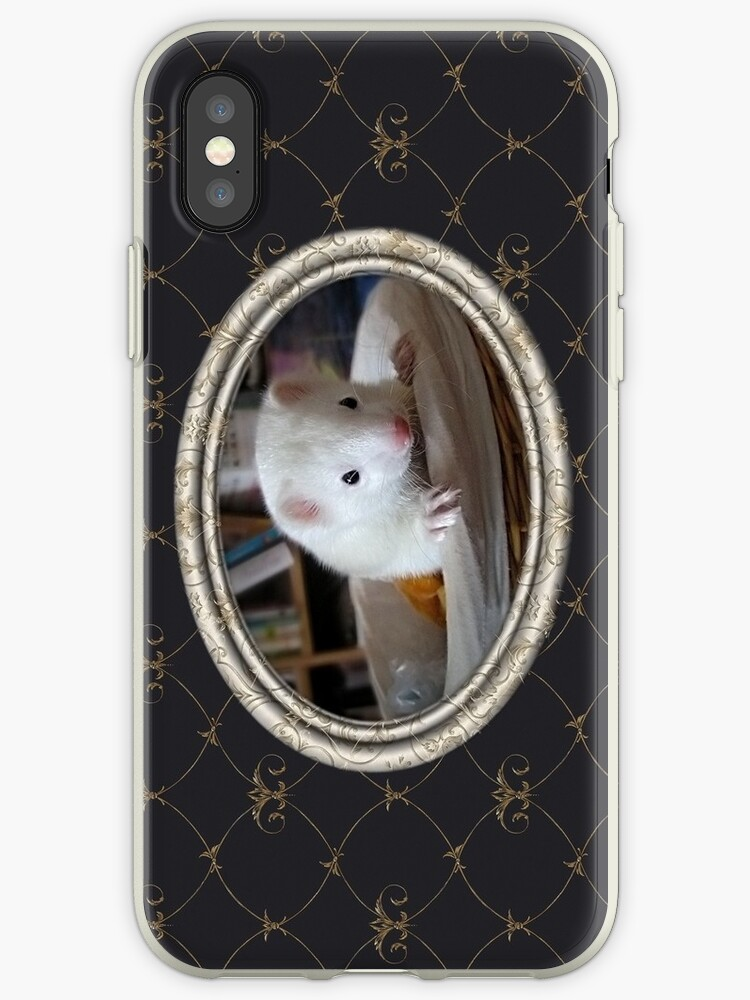 Ferret iPhone Case by Marie-Agnes