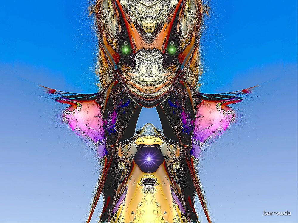 Green-Eyed Mandel-Monster  (UF0512) by barrowda