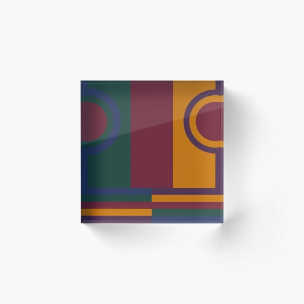 Abstract Acrylic Block