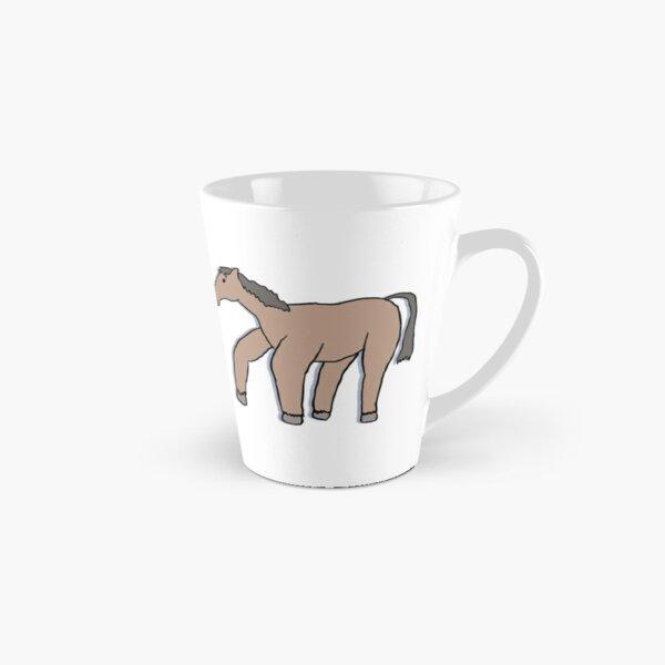 Horse Drawn from Memory (no text) Tall Mug