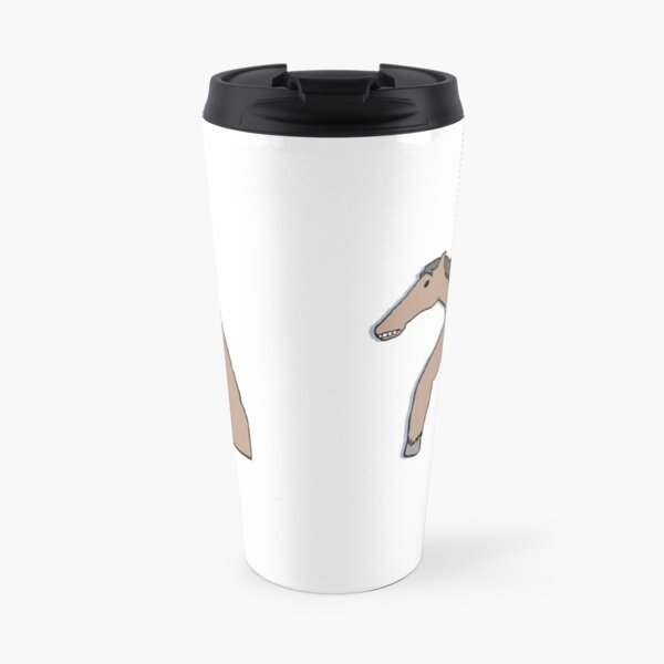 Horse Drawn from Memory (no text) Travel Mug