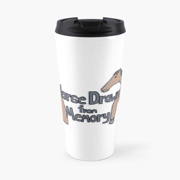 Horse Drawn from Memory (double horse) Travel Mug