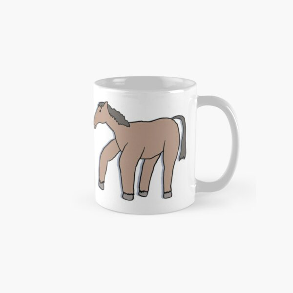 Horse Drawn from Memory (single horse) Classic Mug