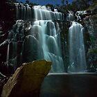 Waterfalls in Moonlight by pablosvista2