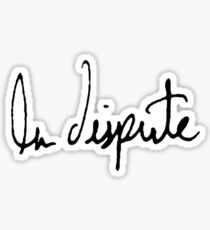La Dispute Sticker