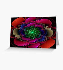 Nurture Those We Love with our Presence....Watch them Bloom... Greeting Card